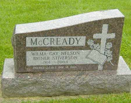 MCREADY-BRINER-STIVERSON, WILMA GAY - Richland County, Ohio | WILMA GAY MCREADY-BRINER-STIVERSON - Ohio Gravestone Photos