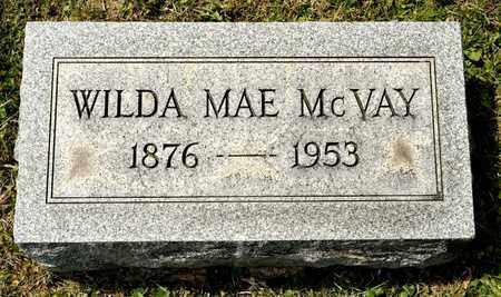 MCVAY, WILDA MAE - Richland County, Ohio   WILDA MAE MCVAY - Ohio Gravestone Photos