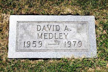 MEDLEY, DAVID A - Richland County, Ohio | DAVID A MEDLEY - Ohio Gravestone Photos