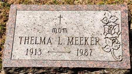 MEEKER, THELMA L - Richland County, Ohio | THELMA L MEEKER - Ohio Gravestone Photos
