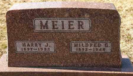 MEIER, MILDRED G - Richland County, Ohio | MILDRED G MEIER - Ohio Gravestone Photos