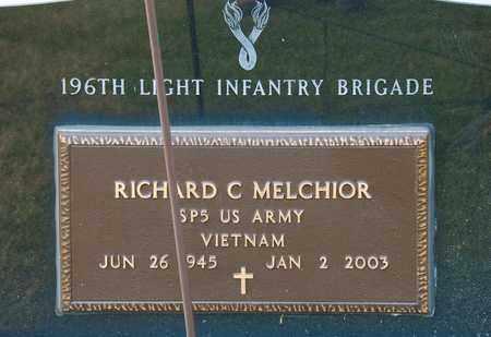 MELCHIOR, RICHARD C - Richland County, Ohio | RICHARD C MELCHIOR - Ohio Gravestone Photos