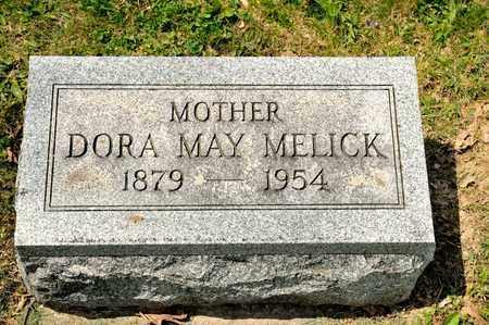 MELICK, DORA MAY - Richland County, Ohio | DORA MAY MELICK - Ohio Gravestone Photos