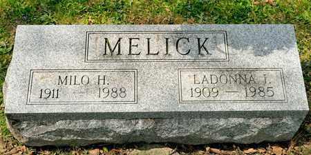 MELICK, LADONNA I - Richland County, Ohio | LADONNA I MELICK - Ohio Gravestone Photos