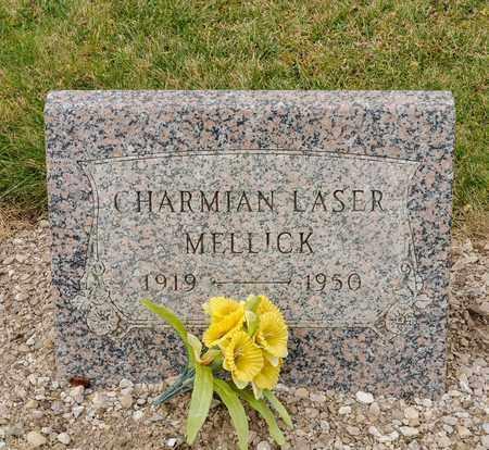 LASER MELLICK, CHARMIAN - Richland County, Ohio   CHARMIAN LASER MELLICK - Ohio Gravestone Photos