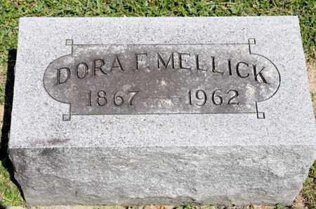 MELLICK, DORA F - Richland County, Ohio   DORA F MELLICK - Ohio Gravestone Photos
