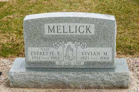 MELLICK, VIVIAN M - Richland County, Ohio | VIVIAN M MELLICK - Ohio Gravestone Photos
