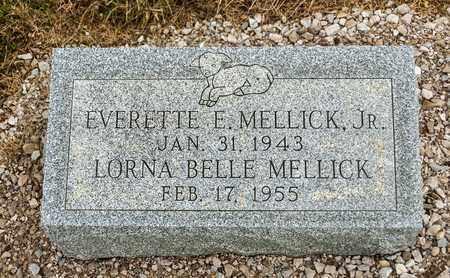 MELLICK, LORNA BELLE - Richland County, Ohio   LORNA BELLE MELLICK - Ohio Gravestone Photos