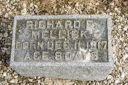 MELLICK, RICHARD E - Richland County, Ohio | RICHARD E MELLICK - Ohio Gravestone Photos
