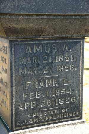 MELSHEIMER, AMOS A - Richland County, Ohio | AMOS A MELSHEIMER - Ohio Gravestone Photos