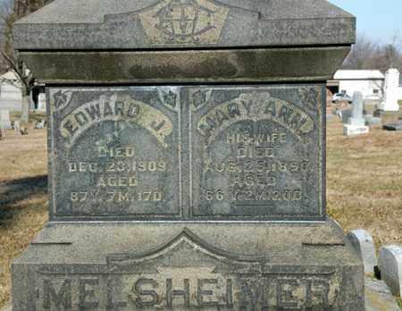 MELSHEIMER, MARY ANN - Richland County, Ohio | MARY ANN MELSHEIMER - Ohio Gravestone Photos