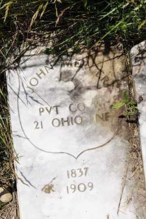 MERCER, JOHN - Richland County, Ohio | JOHN MERCER - Ohio Gravestone Photos