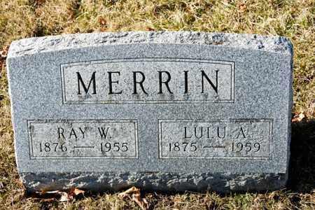 MERRIN, RAY W - Richland County, Ohio   RAY W MERRIN - Ohio Gravestone Photos