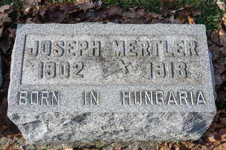 MERTLER, JOSEPH - Richland County, Ohio   JOSEPH MERTLER - Ohio Gravestone Photos