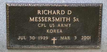 MESSERSMITH SR, RICHARD D - Richland County, Ohio | RICHARD D MESSERSMITH SR - Ohio Gravestone Photos