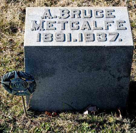 METCALFE, A BRUCE - Richland County, Ohio   A BRUCE METCALFE - Ohio Gravestone Photos