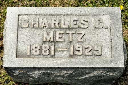 METZ, CHARLES C - Richland County, Ohio | CHARLES C METZ - Ohio Gravestone Photos