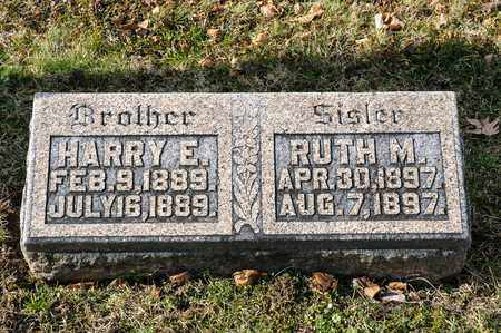 METZ, HARRY E - Richland County, Ohio | HARRY E METZ - Ohio Gravestone Photos