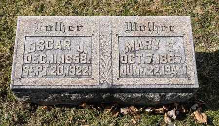 METZ, OSCAR J - Richland County, Ohio | OSCAR J METZ - Ohio Gravestone Photos