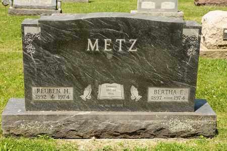 METZ, BERTHA E - Richland County, Ohio | BERTHA E METZ - Ohio Gravestone Photos