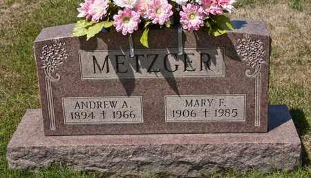 METZGER, MARY F - Richland County, Ohio | MARY F METZGER - Ohio Gravestone Photos