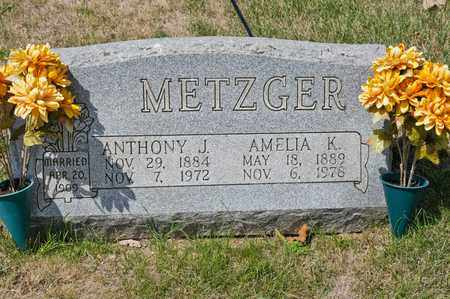 METZGER, AMELIA K - Richland County, Ohio | AMELIA K METZGER - Ohio Gravestone Photos