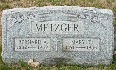 METZGER, MARY T - Richland County, Ohio | MARY T METZGER - Ohio Gravestone Photos