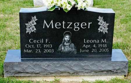 METZGER, CECIL F - Richland County, Ohio | CECIL F METZGER - Ohio Gravestone Photos