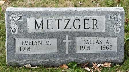 METZGER, DALLAS A - Richland County, Ohio | DALLAS A METZGER - Ohio Gravestone Photos