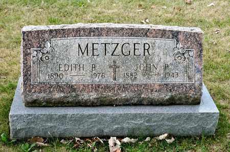 METZGER, EDITH B - Richland County, Ohio | EDITH B METZGER - Ohio Gravestone Photos