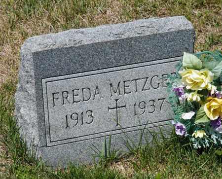 METZGER, FREDA - Richland County, Ohio | FREDA METZGER - Ohio Gravestone Photos