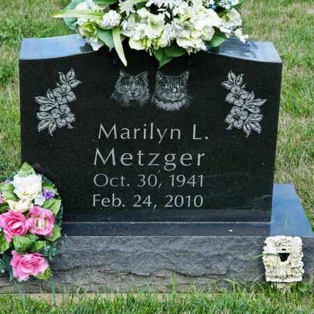 METZGER, MARILYN L - Richland County, Ohio | MARILYN L METZGER - Ohio Gravestone Photos