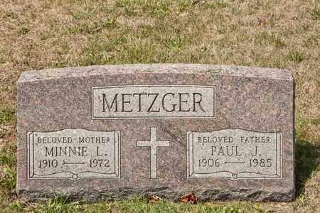 METZGER, PAUL J - Richland County, Ohio | PAUL J METZGER - Ohio Gravestone Photos