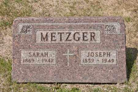 METZGER, SARAH - Richland County, Ohio | SARAH METZGER - Ohio Gravestone Photos