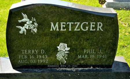 METZGER, TERRY D - Richland County, Ohio   TERRY D METZGER - Ohio Gravestone Photos