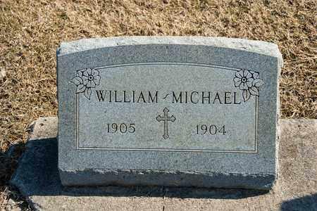 MICHAEL, WILLIAM - Richland County, Ohio | WILLIAM MICHAEL - Ohio Gravestone Photos