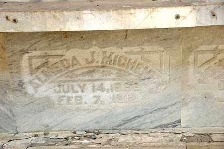MICHENER, ALMEDA J - Richland County, Ohio | ALMEDA J MICHENER - Ohio Gravestone Photos