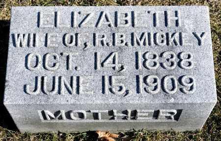 MICKEY, ELIZABETH - Richland County, Ohio   ELIZABETH MICKEY - Ohio Gravestone Photos