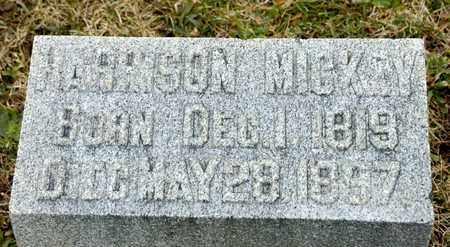 MICKEY, HARRISON - Richland County, Ohio   HARRISON MICKEY - Ohio Gravestone Photos