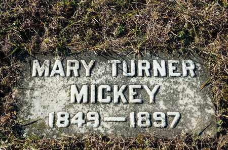 MICKEY, MARY - Richland County, Ohio   MARY MICKEY - Ohio Gravestone Photos