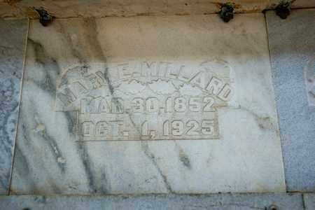 MILLARD, MARY E - Richland County, Ohio | MARY E MILLARD - Ohio Gravestone Photos
