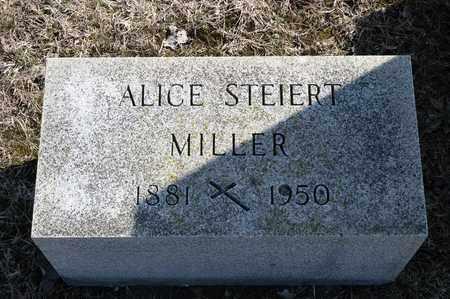 MILLER, ALICE - Richland County, Ohio | ALICE MILLER - Ohio Gravestone Photos