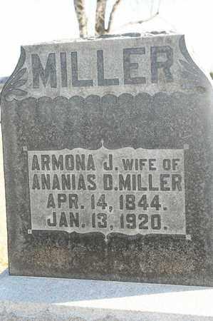 MILLER, ARMONA J - Richland County, Ohio | ARMONA J MILLER - Ohio Gravestone Photos