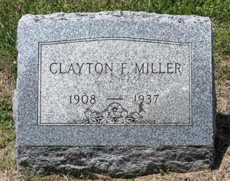 MILLER, CLAYTON F - Richland County, Ohio | CLAYTON F MILLER - Ohio Gravestone Photos