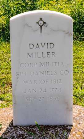 MILLER, DAVID - Richland County, Ohio | DAVID MILLER - Ohio Gravestone Photos