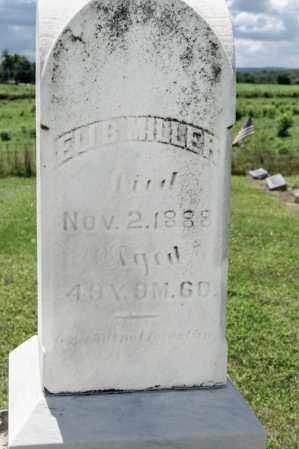 MILLER, ELI B - Richland County, Ohio   ELI B MILLER - Ohio Gravestone Photos