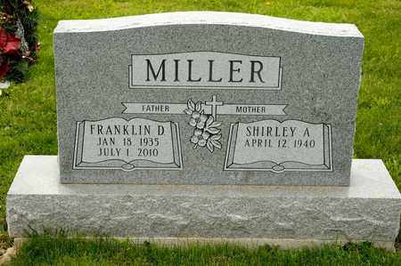 MILLER, FRANKLIN D - Richland County, Ohio | FRANKLIN D MILLER - Ohio Gravestone Photos
