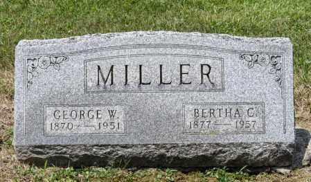MILLER, GEORGE W - Richland County, Ohio | GEORGE W MILLER - Ohio Gravestone Photos