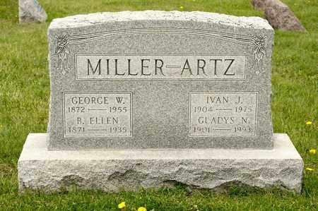 MILLER, GEROGE W - Richland County, Ohio | GEROGE W MILLER - Ohio Gravestone Photos