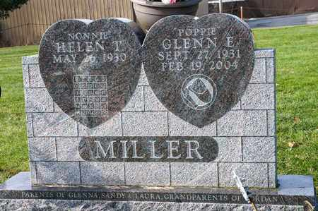 MILLER, GLENN E - Richland County, Ohio   GLENN E MILLER - Ohio Gravestone Photos